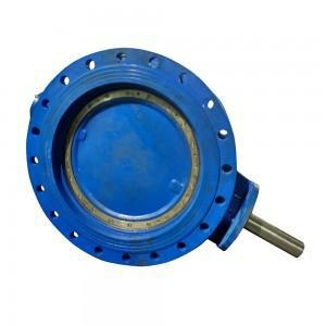 China ECCENTRIC FLANGE BUTTERFLY VALVE