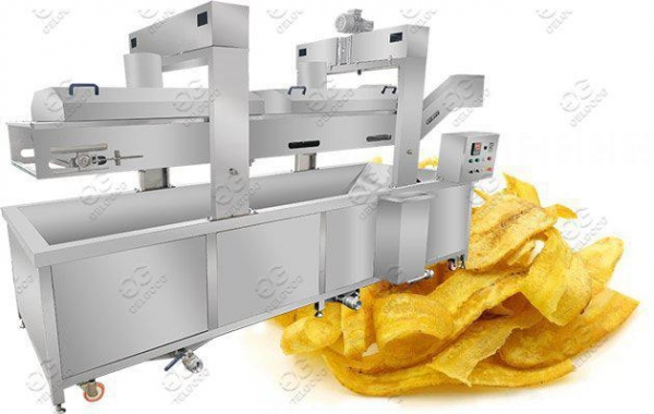 China Commercial Banana Chips Frying Machine Hot Sale