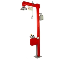 Buy cheap Heat Traced Emergency Shower and Eyewashes, with ABS Shell, Model: ESW010HT product