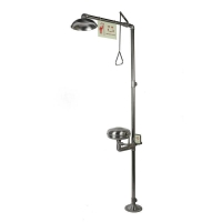 Buy cheap Emergency Shower and Eyewashes, Stainless Steel, with Dust Cover, Model: ESW010MC from wholesalers