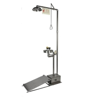 Buy cheap Emergency Shower and Eyewashes, Stainless Steel, Large Foot Pedal, Model: ESW010MH-FF from wholesalers