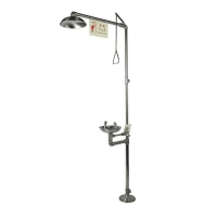 Buy cheap Emergency Shower and Eyewashes, Stainless Steel, Low-level Configuration, Model: ESW010ML from wholesalers