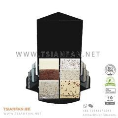 China Acrylic Artificial Stone Sample Countertop Display Stand