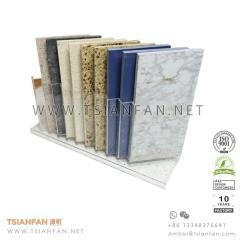 China Acrylic Engineered Stone Desktop Display and Marble Table Stand