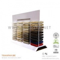 Buy cheap Metal Wire Stone Marble Counter Display for Marketing Promotion product