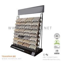 China Granite Stone Sample Counter Display Rack