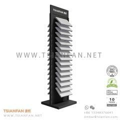 China Double Faced Stone Display Tower