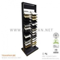 Buy cheap High Quality double-row display tower for stone samples, quartz from wholesalers