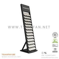 China Metal Sheet Granite and Marble Stone Promotion Display Tower